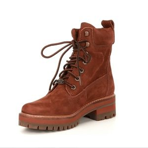 TIMBERLAND COURMAYEUR VALLEY 6-INCH BOOTS NWOB